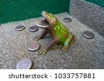 frog game called too toad in... | Shutterstock . vector #1033757881