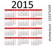 julian calender 2015