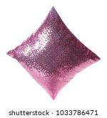Shiny Decorative Pillow On...