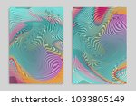 abstract cover template with... | Shutterstock .eps vector #1033805149