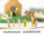 miniature people  family and... | Shutterstock . vector #1033809295