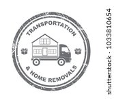 concept transportation and home ... | Shutterstock .eps vector #1033810654