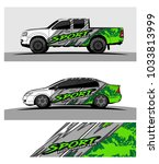 abstract racing graphic kit... | Shutterstock .eps vector #1033813999