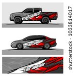abstract racing graphic kit...   Shutterstock .eps vector #1033814017