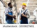 multi ethnic team of... | Shutterstock . vector #1033827601