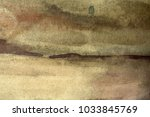 abstract artistic brown... | Shutterstock . vector #1033845769