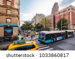 new york city  united states  ... | Shutterstock . vector #1033860817