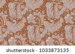 seamless paisley design | Shutterstock . vector #1033873135