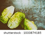 composition with fresh... | Shutterstock . vector #1033874185