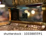 Antique Cash Register With...