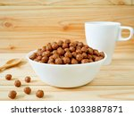 Chocolate Cereal Balls In A...