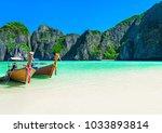 Famous Maya Bay Beach At Ko Phi ...