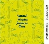 tie pattern  on a green...   Shutterstock .eps vector #103390325