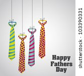happy father's day  holiday... | Shutterstock .eps vector #103390331