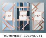 design templates for flyers ... | Shutterstock .eps vector #1033907761
