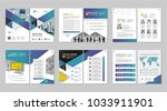 brochure creative design.... | Shutterstock .eps vector #1033911901