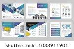brochure creative design.... | Shutterstock .eps vector #1033911901