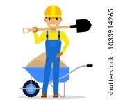vector illustration of cartoon...   Shutterstock .eps vector #1033914265