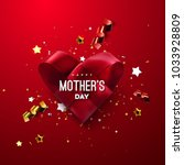 happy mothers day. vector... | Shutterstock .eps vector #1033928809