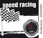 speed racing background with... | Shutterstock .eps vector #103394087