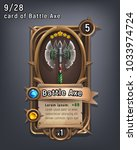 card of fantasy battle axe...