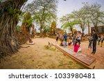 ayutthaya  thailand  february ... | Shutterstock . vector #1033980481