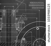black background. points.... | Shutterstock .eps vector #1033988125