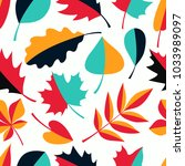 seamless abstract vector...   Shutterstock .eps vector #1033989097