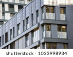 modern office building ... | Shutterstock . vector #1033998934