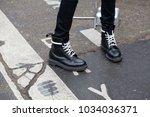 paris january 24  2017. street... | Shutterstock . vector #1034036371