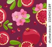 vector seamless pattern of... | Shutterstock .eps vector #1034041189