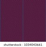 isometric grid. vector seamless ... | Shutterstock .eps vector #1034043661