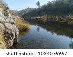 Cosumnes river California during summer