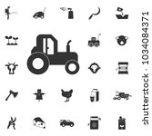 tractor icon. element of... | Shutterstock .eps vector #1034084371