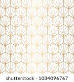 gold geometric pattern vector....   Shutterstock .eps vector #1034096767