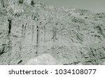lunar landscape of beautiful... | Shutterstock . vector #1034108077