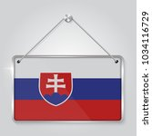 flag of slovakia. the symbol of ...   Shutterstock .eps vector #1034116729