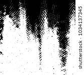 grunge halftone black and white ... | Shutterstock . vector #1034137345