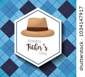 fathers day celebration card | Shutterstock .eps vector #1034147917