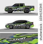 wrap racing graphics background ... | Shutterstock .eps vector #1034152345
