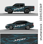 wrap racing graphics background ...   Shutterstock .eps vector #1034152369