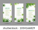 manu frame formed with hemp ...   Shutterstock .eps vector #1034166829