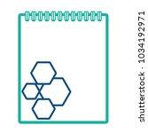 corporate brand notepad | Shutterstock .eps vector #1034192971