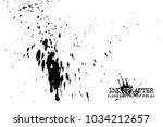 ink splatter elements on white... | Shutterstock .eps vector #1034212657