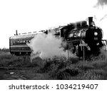 Oil Fired Steam Locomotive...