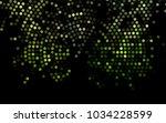 dark green vector banner with... | Shutterstock .eps vector #1034228599