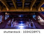 chicago downtown  railroad...   Shutterstock . vector #1034228971