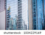 chicago downtown residential...   Shutterstock . vector #1034229169