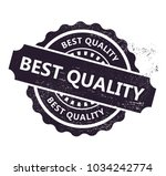 best quality stamp | Shutterstock .eps vector #1034242774