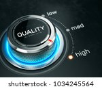 high quality level concept  ... | Shutterstock . vector #1034245564